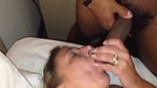 Ejaculation filmée par mon mari
